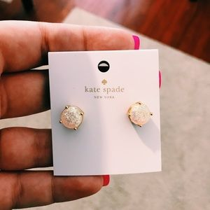 Kate Spade Opal Earrings 💚